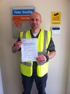 Maciej Kramarz from Mansfield PASSED CAT C with a CLEAN SHEET