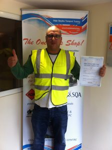 Pawel Bukowski from Nottingham PASSED CAT C TEST with a CLEAN SHEET