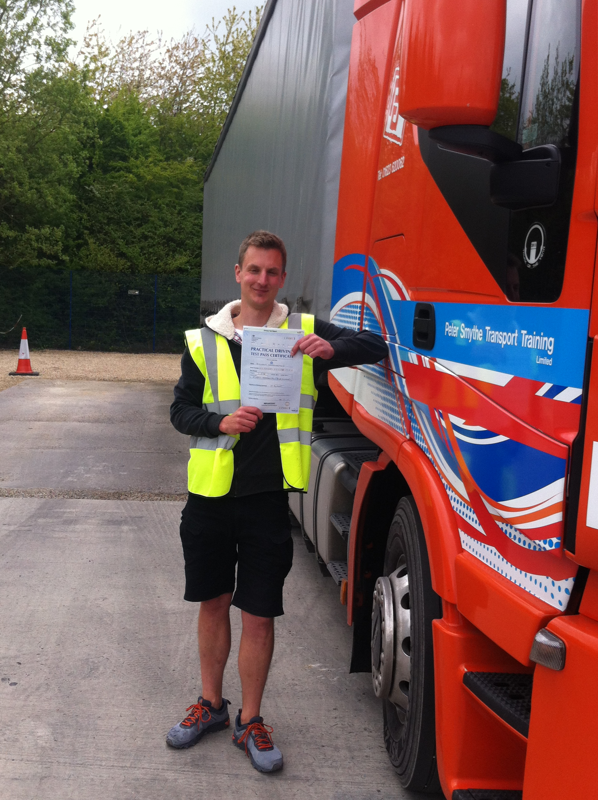 Stuart Normanton from Devon PASED CAT C+E