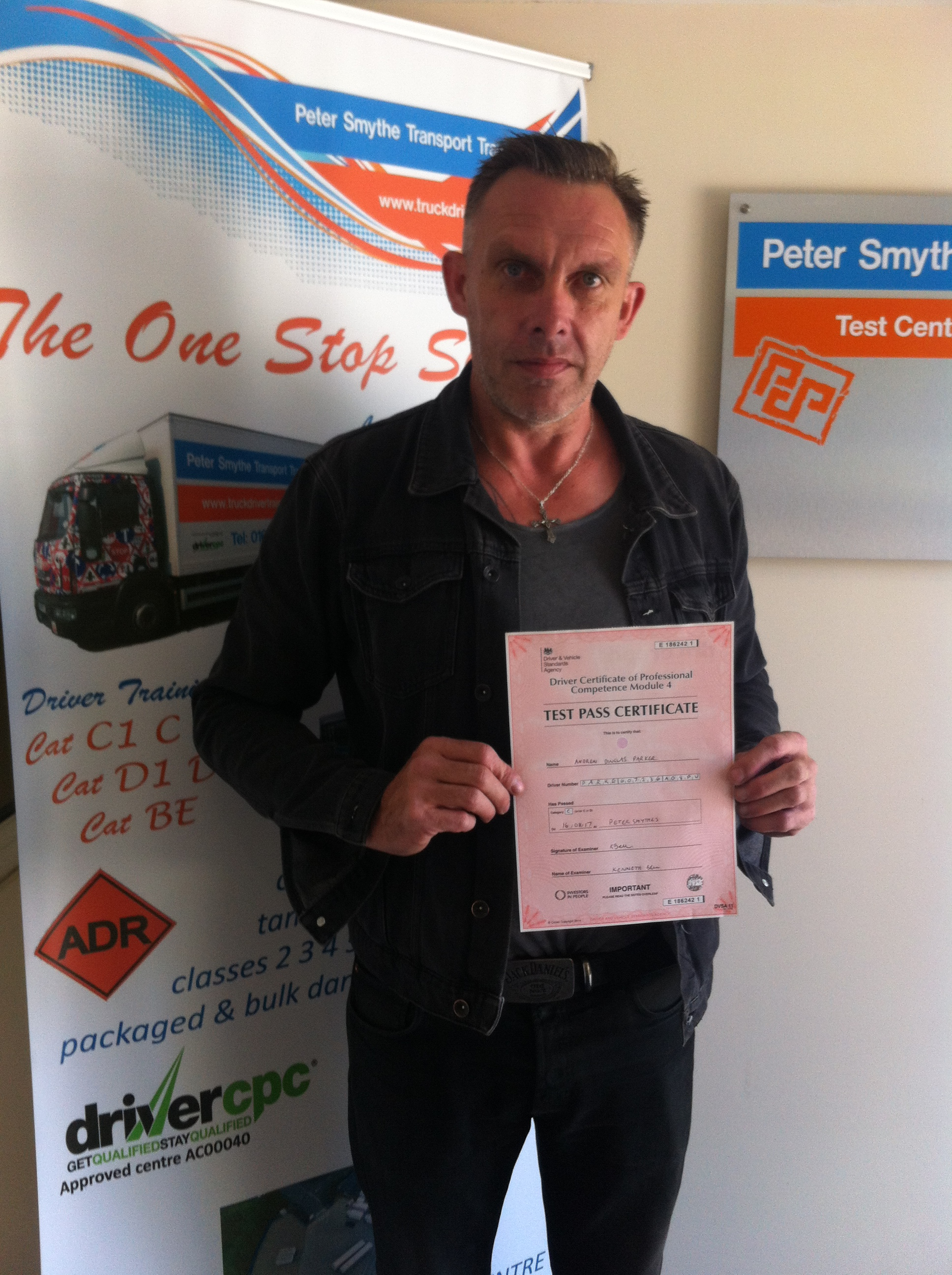 Andy Parker from Alfreton PASSED CPC MOD 4 #Ipassedwithpstt