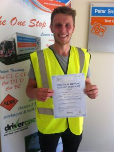 Christien Davies from Langwith PASSED CAT D1 #Ipassedwithpstt