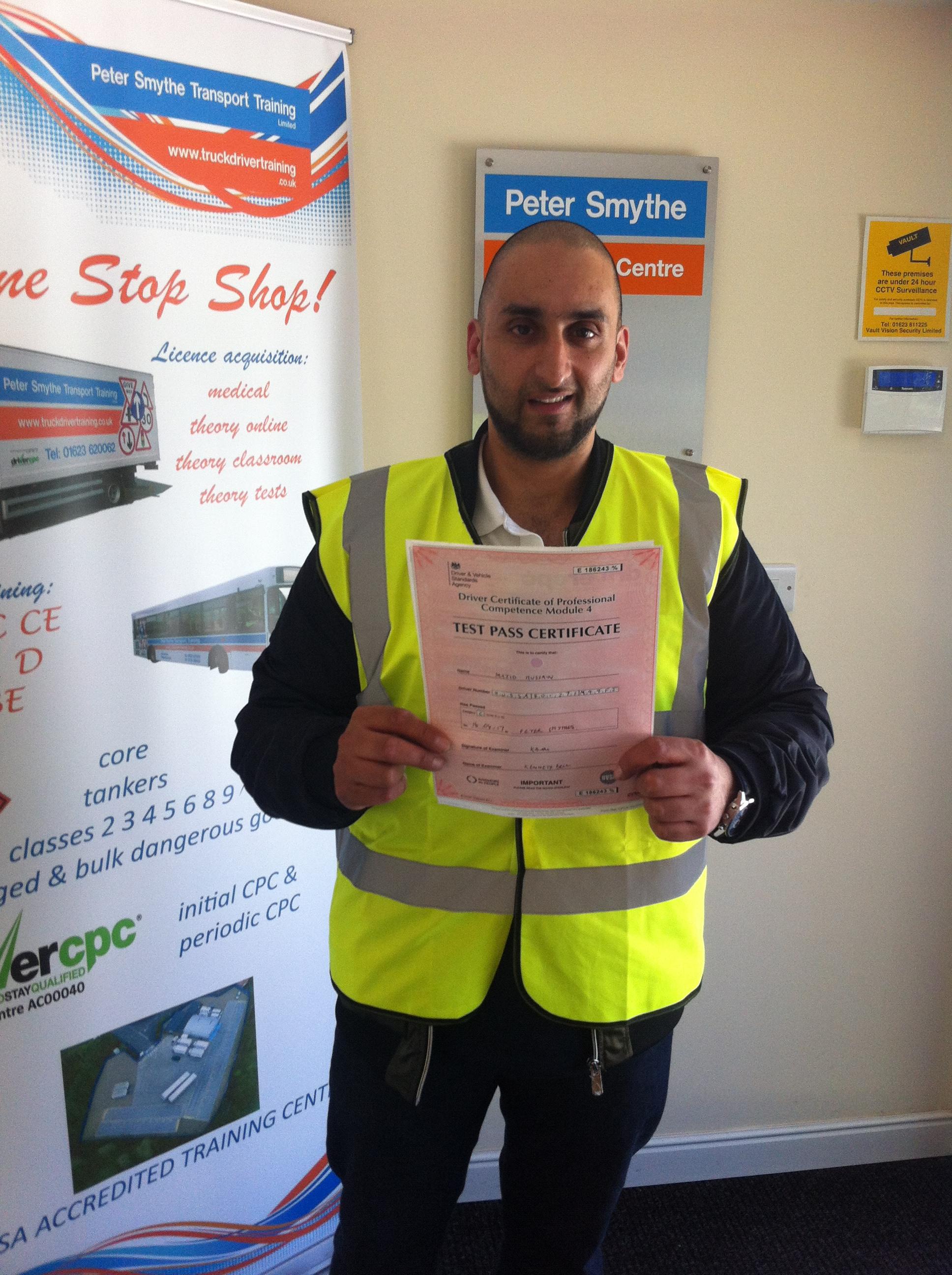 Majid Hussain from Bradford PASSED CPC MOD 4 #Ipassedwithpstt