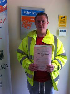 Sam Leighton from Sutton In Ashfield PASSED CPC MOD 4 #Ipassedwithpstt