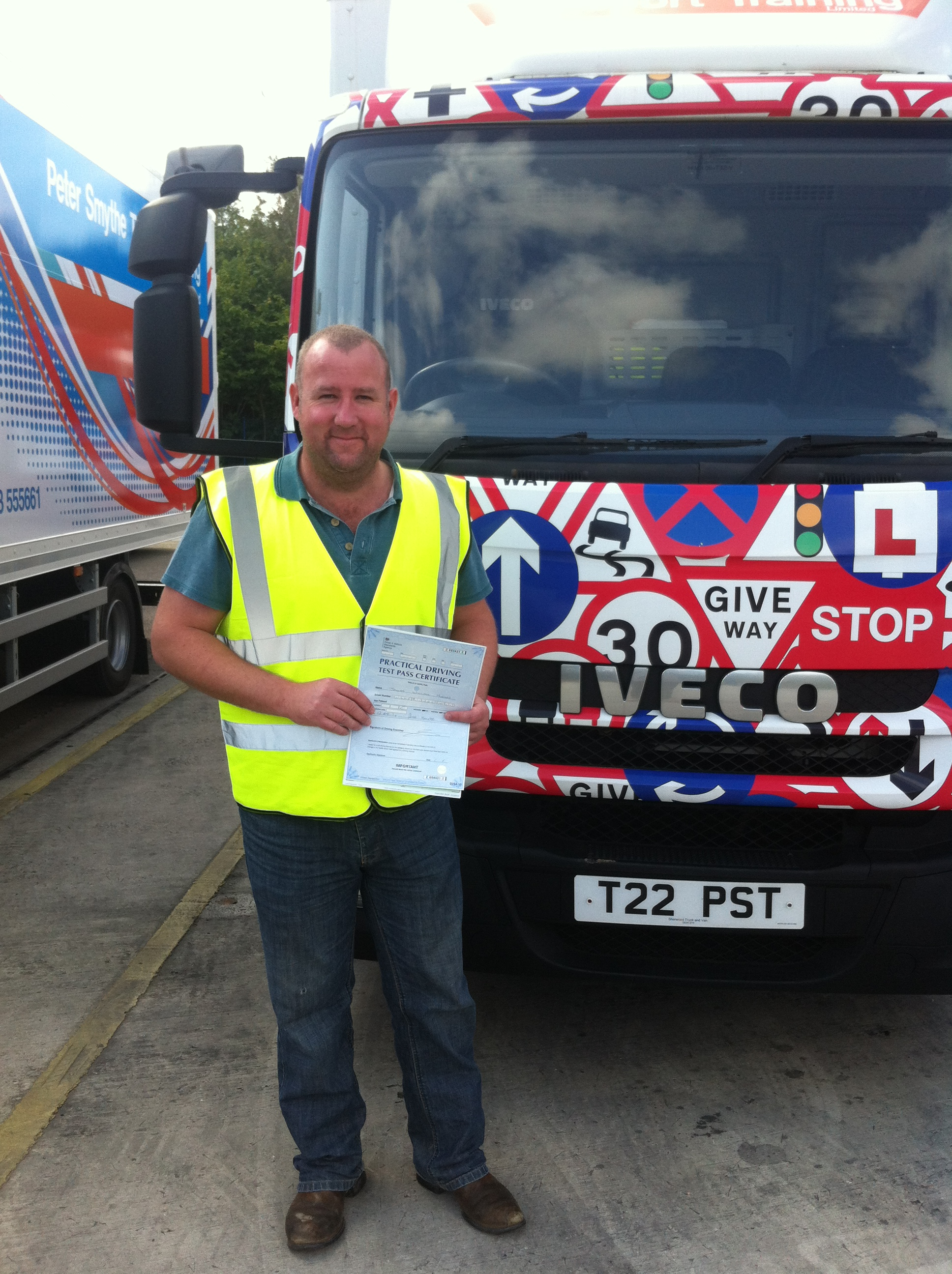 James Hughes from Halstead on your CAT C TEST PASS today with a CLEAN SHEET #Ipassedwithpstt