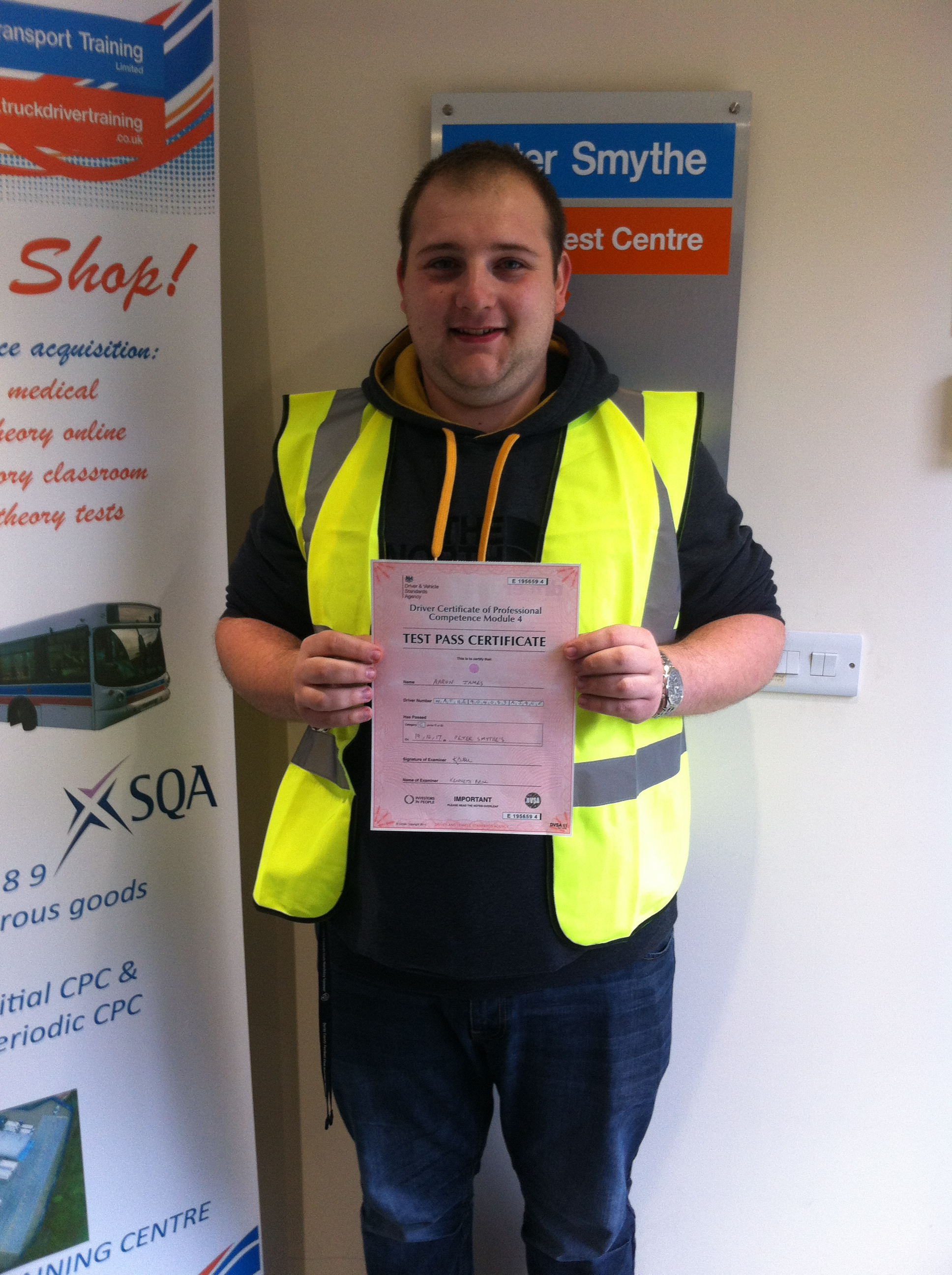 Aaron Wathey from Derby PASSED CPC MOD 4 #ipassedwithpstt