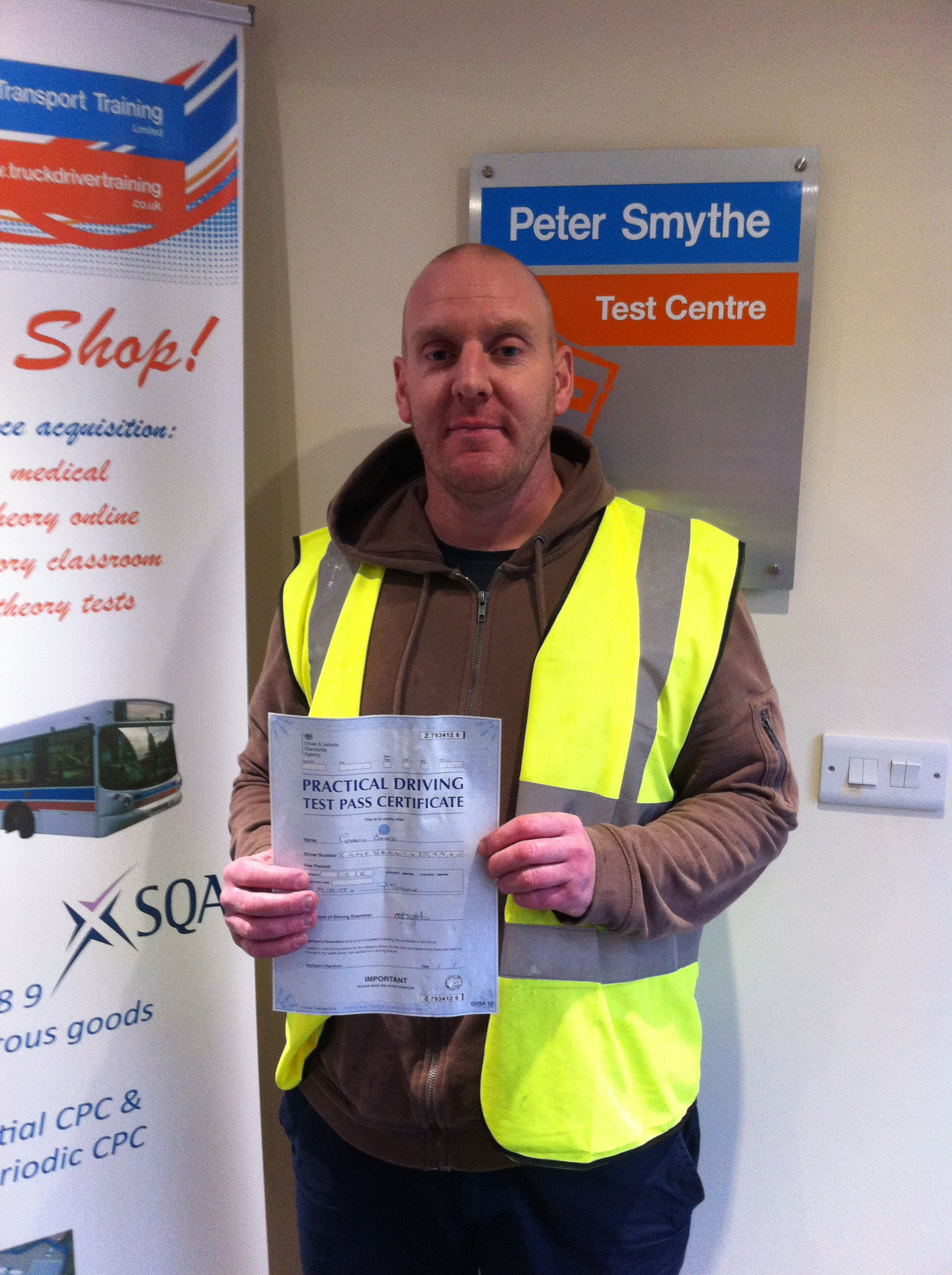 Gareth Eames from Warsop PASSED HGV CLASS 1#ipassedwithpstt