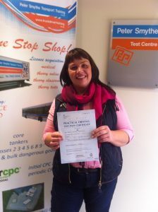 Louise Bowman from Mansfield PASSED CAT C with a CLEAN SHEET #ipassedwithpstt