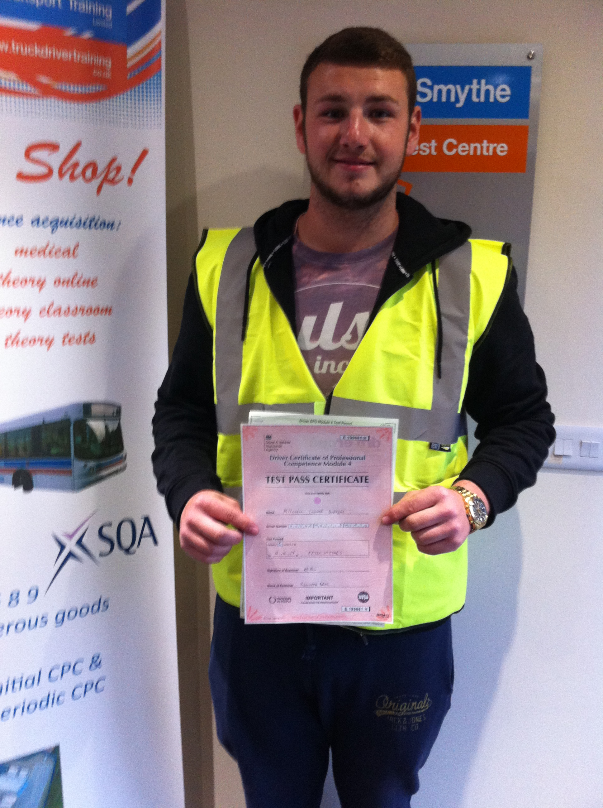 Mitchell Dudden from Mansfield PASSED CPC MOD 4#ipassedwithpstt