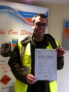 Robert Hutchings from Birmingham PASSED CAT C #ipassedwithpstt