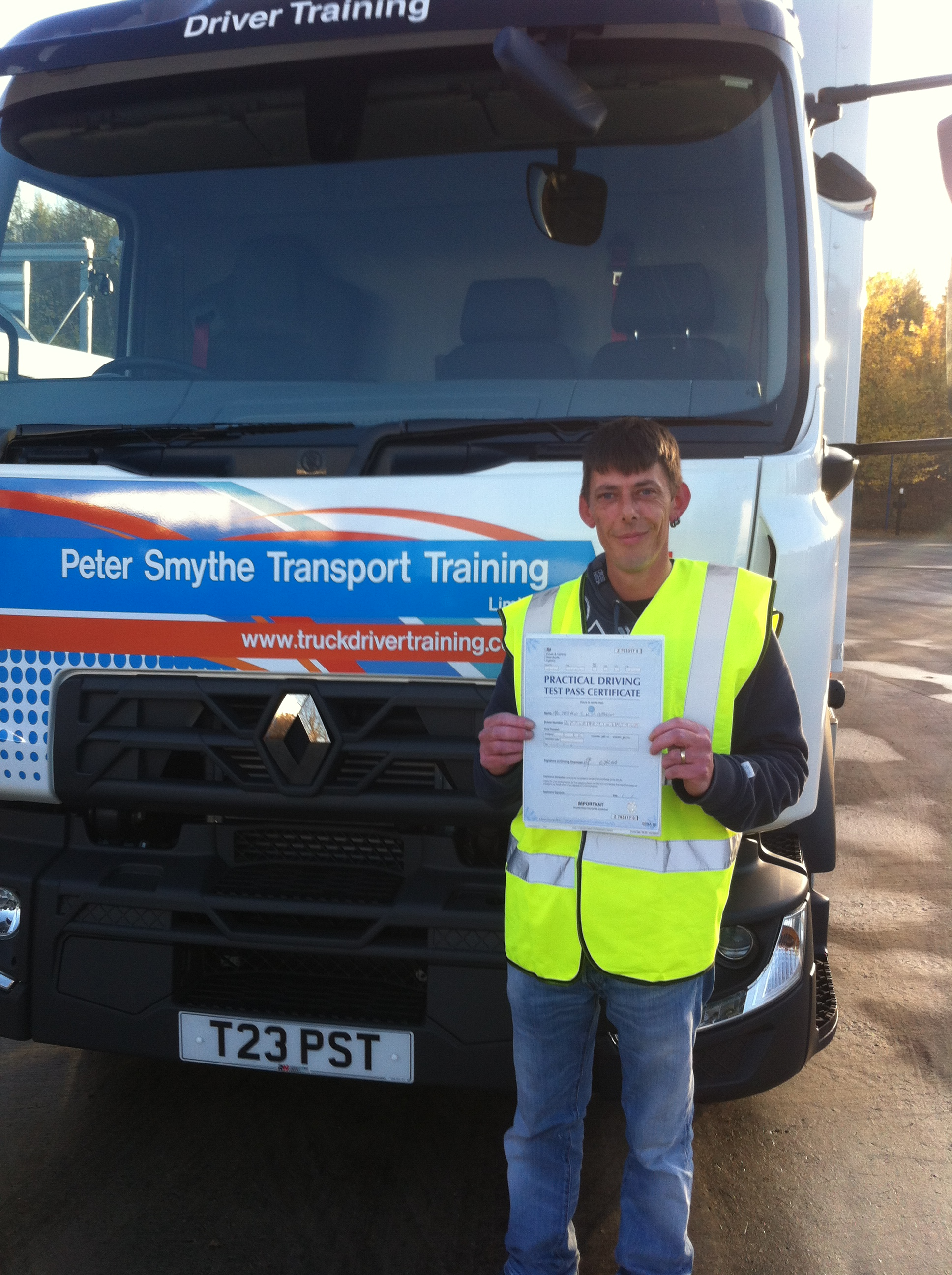 Matthew Appleton from Coalville PASSED CAT C #ipassedwithpstt