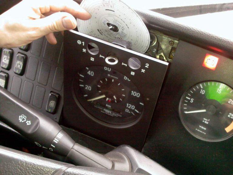 Analogue-Tachograph