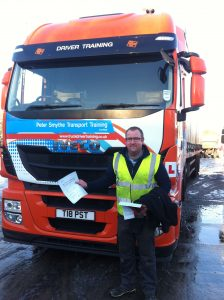 James Hughes from Halstead PASSED HGV CLASS 1 #ipassedwithpstt