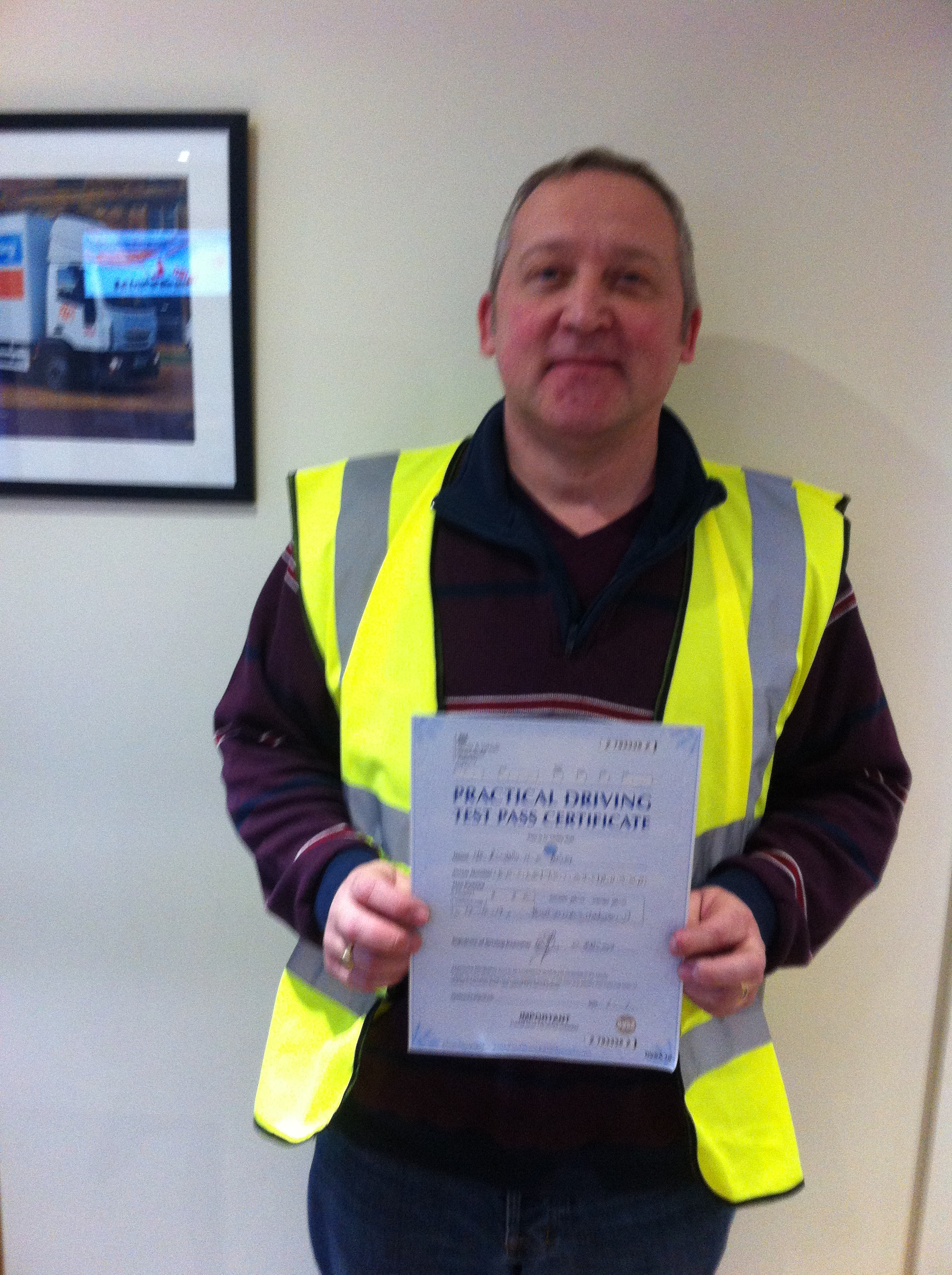 Richard Bailey from Mansfield PASSED CAT C #ipassedwithpstt