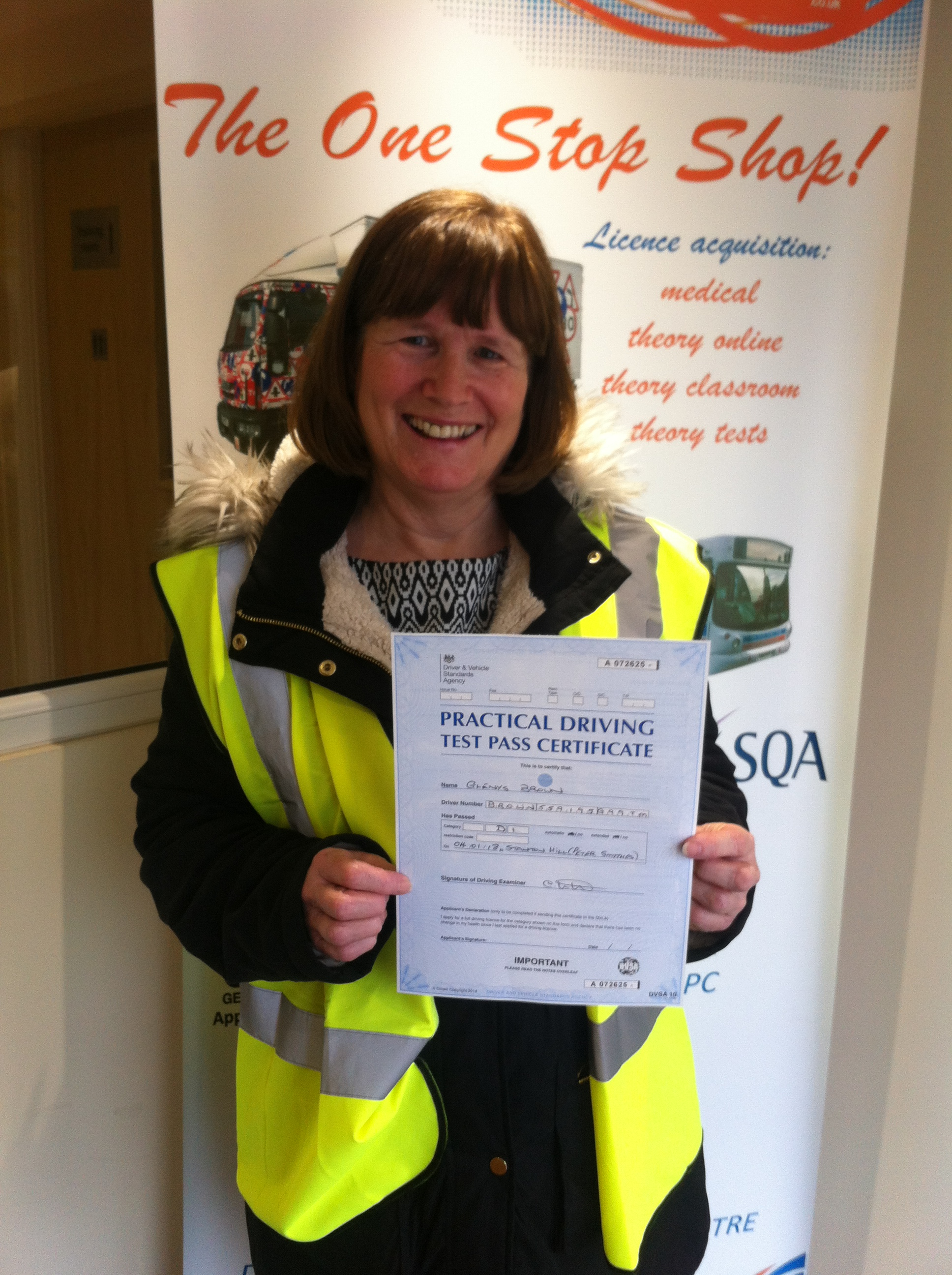 Glenys Brown from Kirkby In Ashfield PASSED CAT D1 with a CLEAN SHEET #ipassedwithpstt