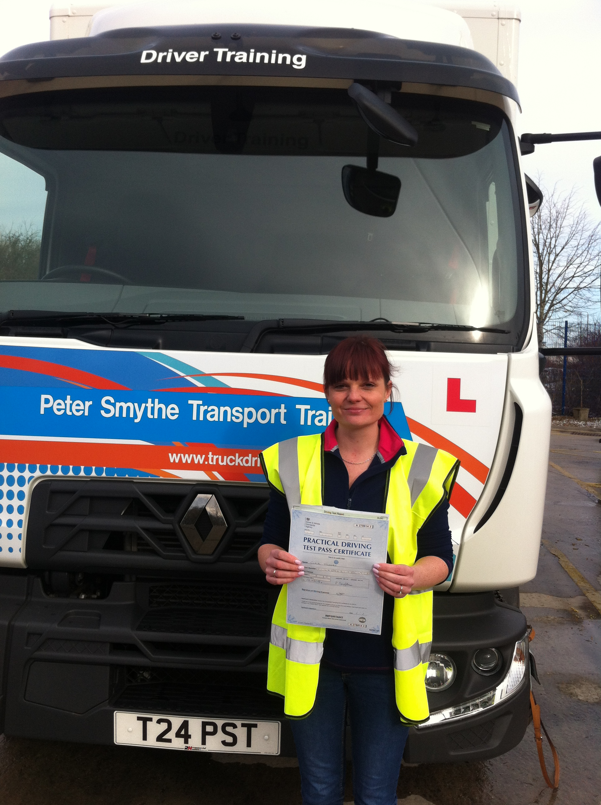 Clair Vickery from Hucknall PASSED CAT C #ipassedwithpstt