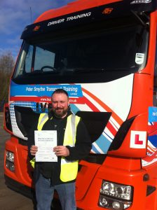 Nathan Horne from Mansfield PASSED HGV CLASS 1 #ipassedwithpstt
