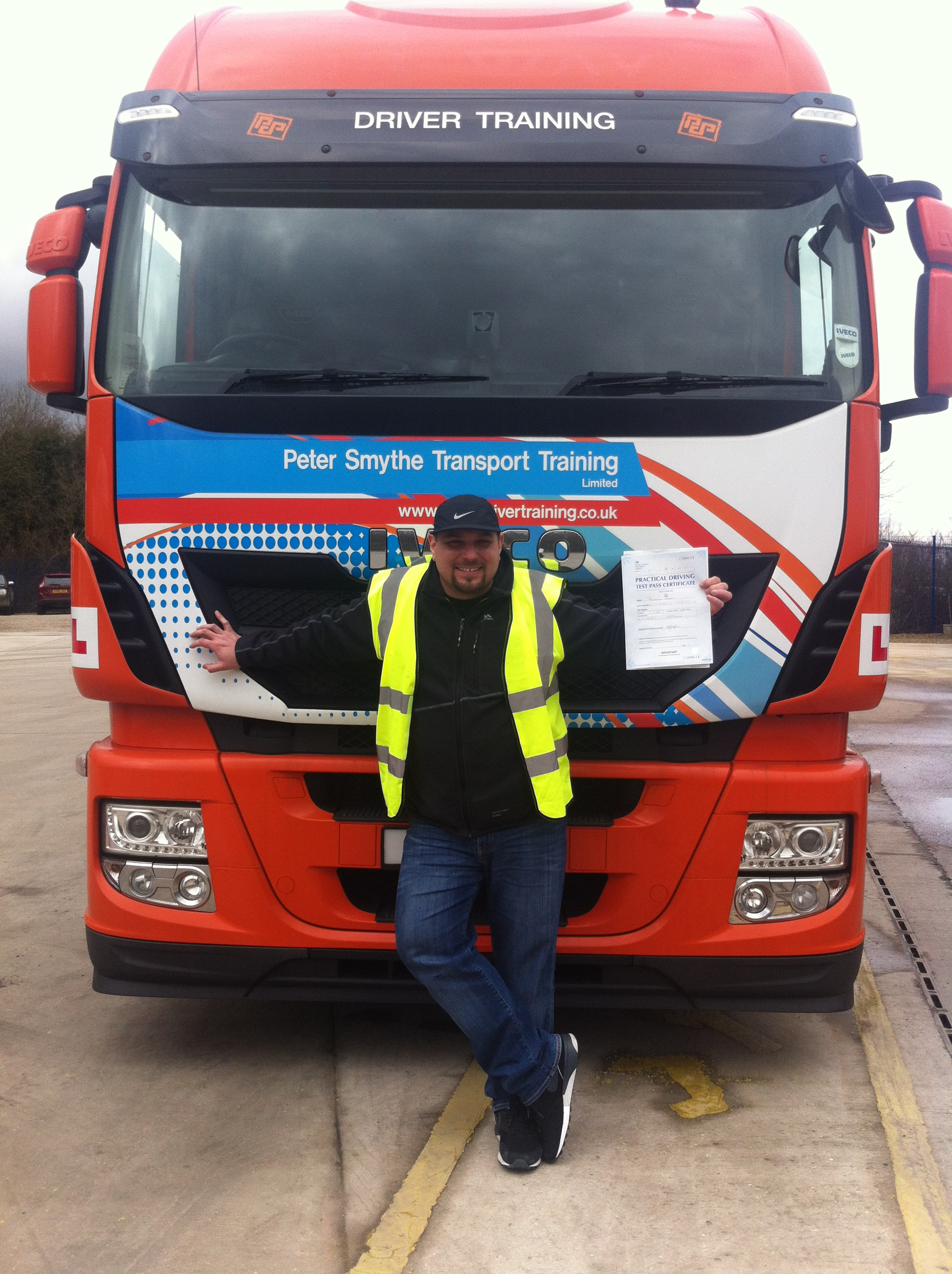 Radoslaw Zapert from Sutton In Ashfield PASSED HGV CLASS 1 #ipassedwithpstt