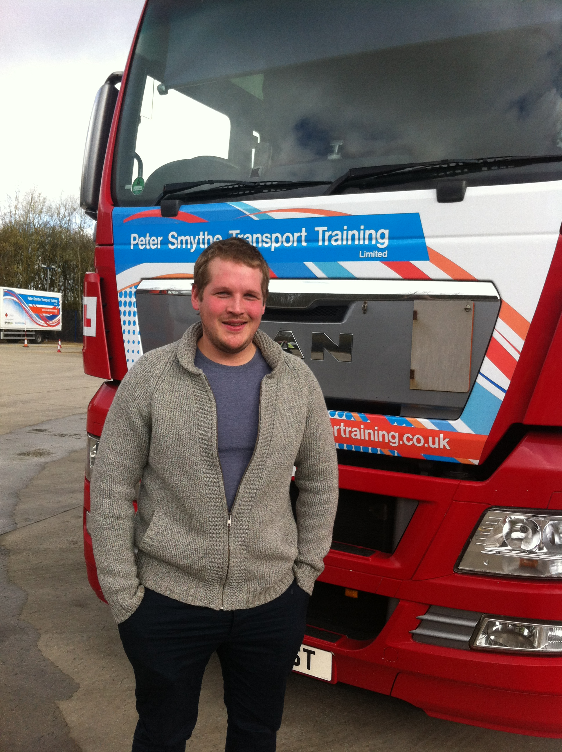 Sam Mort from Winchester PASSED HGV CLASS 1 #ipassedwithpstt