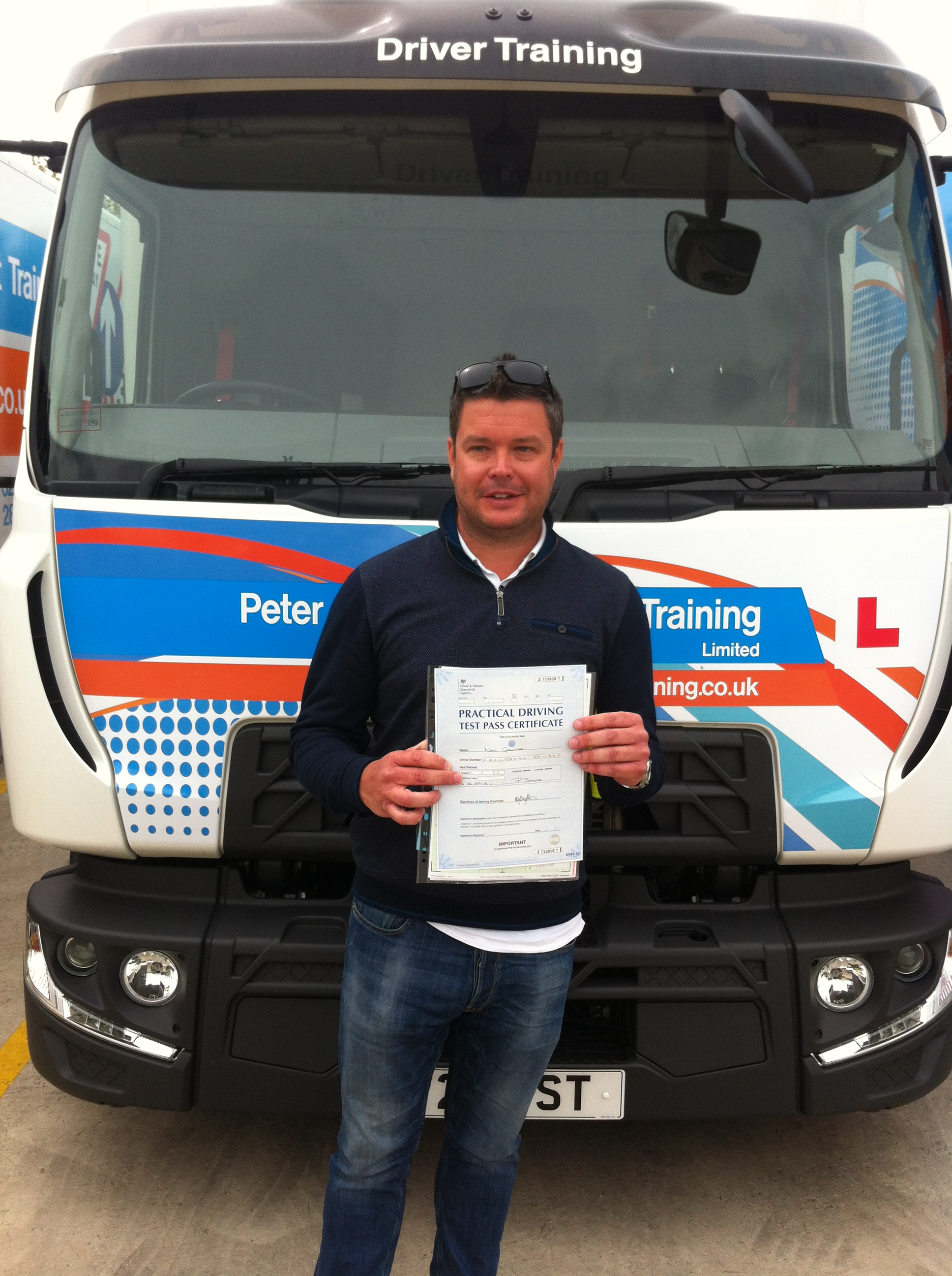 Neil Crowther from Derby PASSED CAT C with a CLEANSHEET#ipassedwithpstt