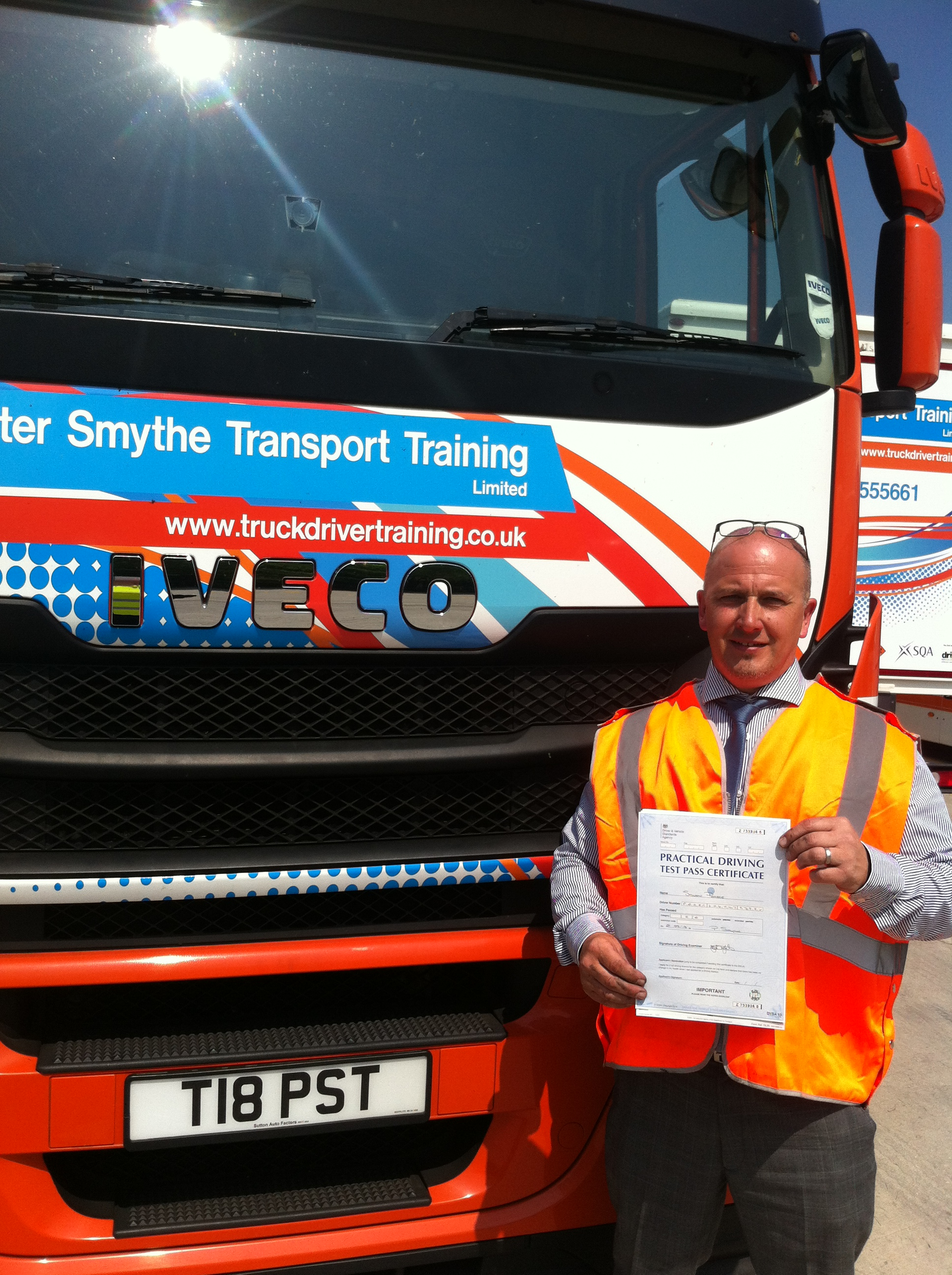 Steve Pearce from Leicester PASSED HGV CLASS 1#ipassedwithpstt