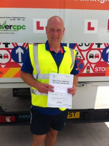 Andrew Haywood from Shirebrook PASSED CAT C #ipassedwithpstt