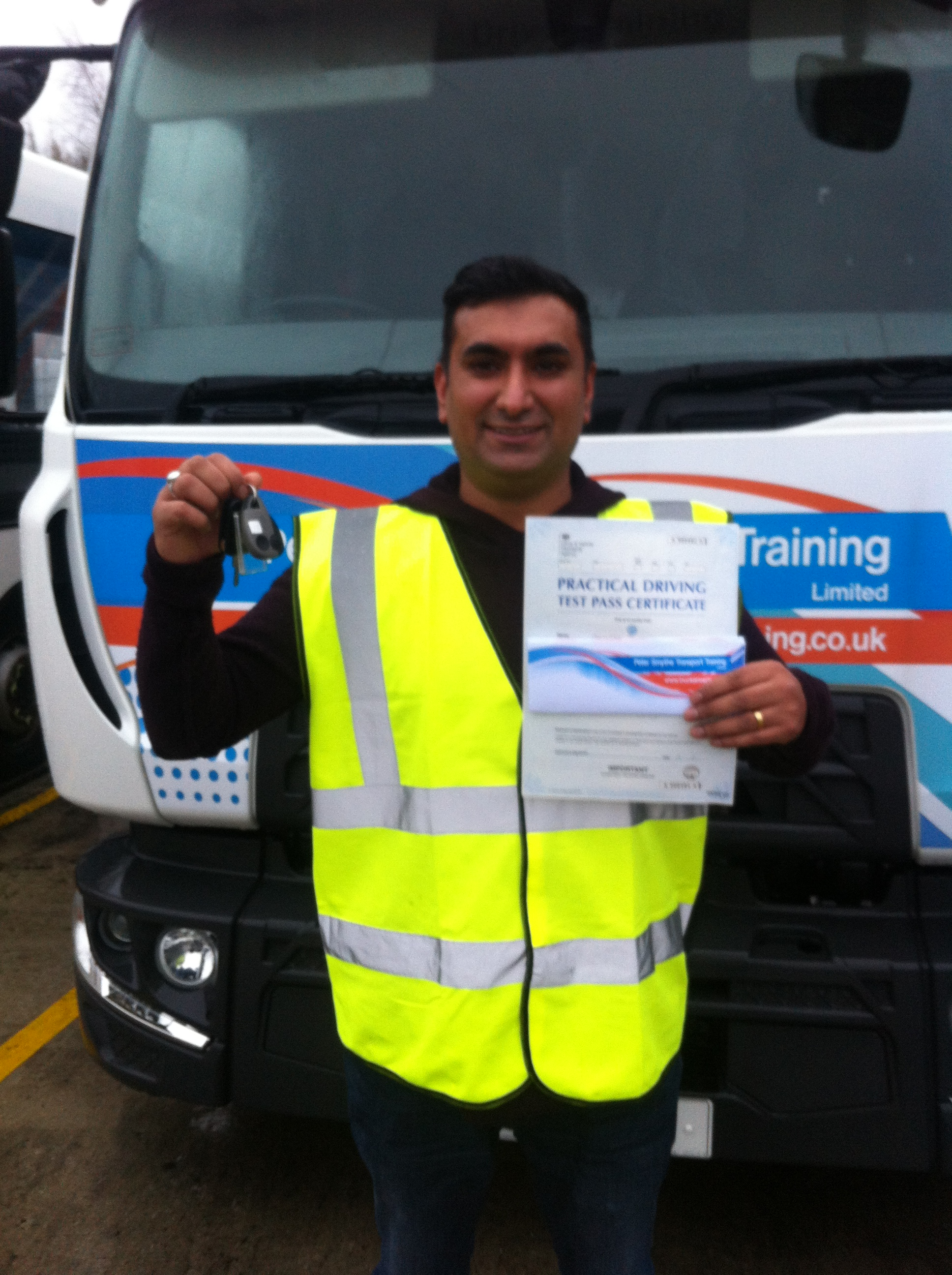 Arvinder Singh from Leicester PASSED CAT C #ipassedwithpstt