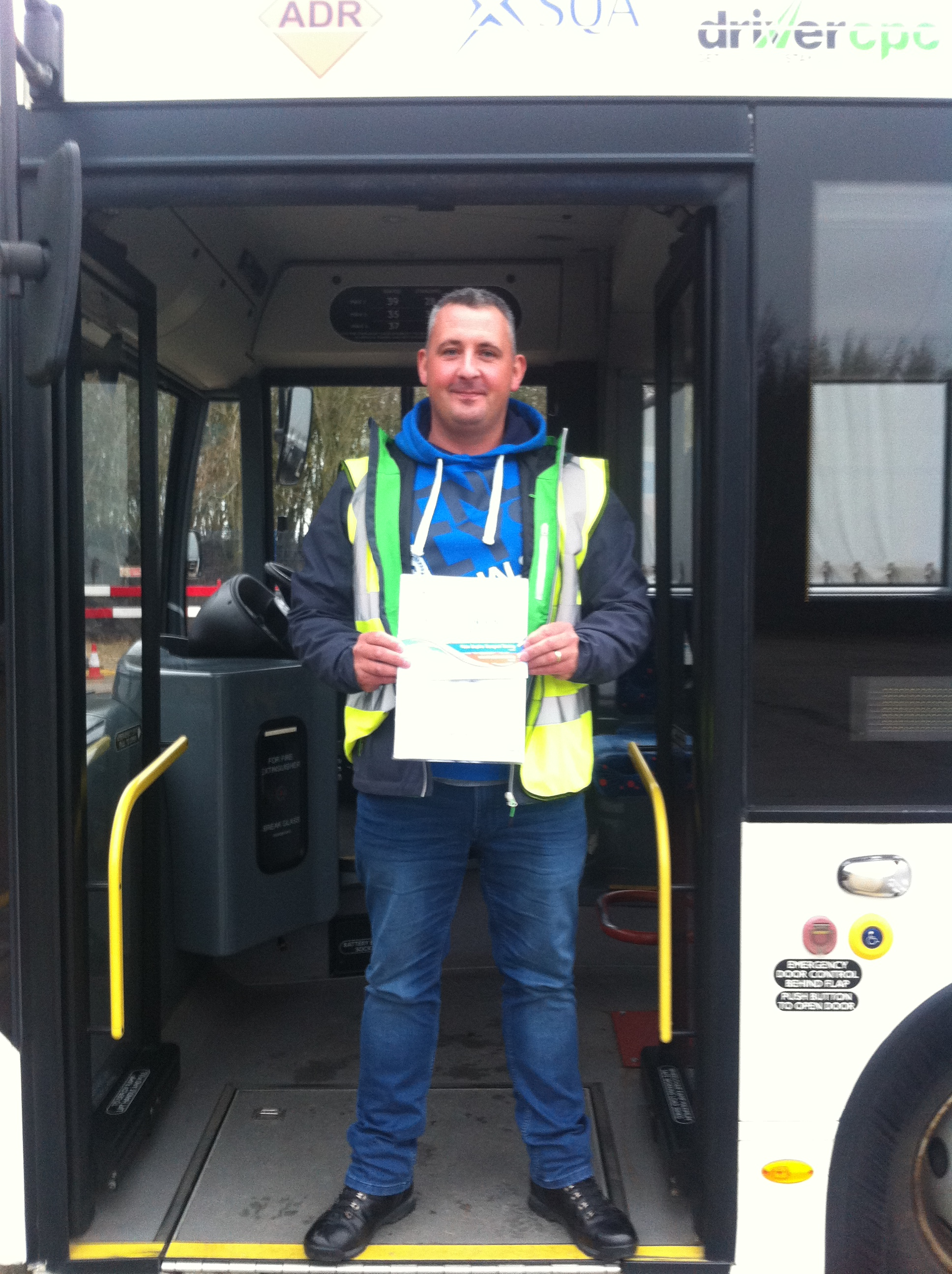 Christopher Mason from Mansfield PASSED CAT D#ipassedwithpstt