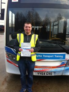 Daniel Myszak from Shirebrook PASSED CAT D#ipassedwithpstt