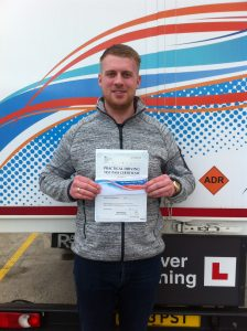 Chris Swanwick from Nottingham PASSED HGV CLASS 1#ipassedwithpstt