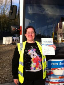 Laura Booth from Sutton In Ashfield PASSED CAT D#ipassedwithpstt
