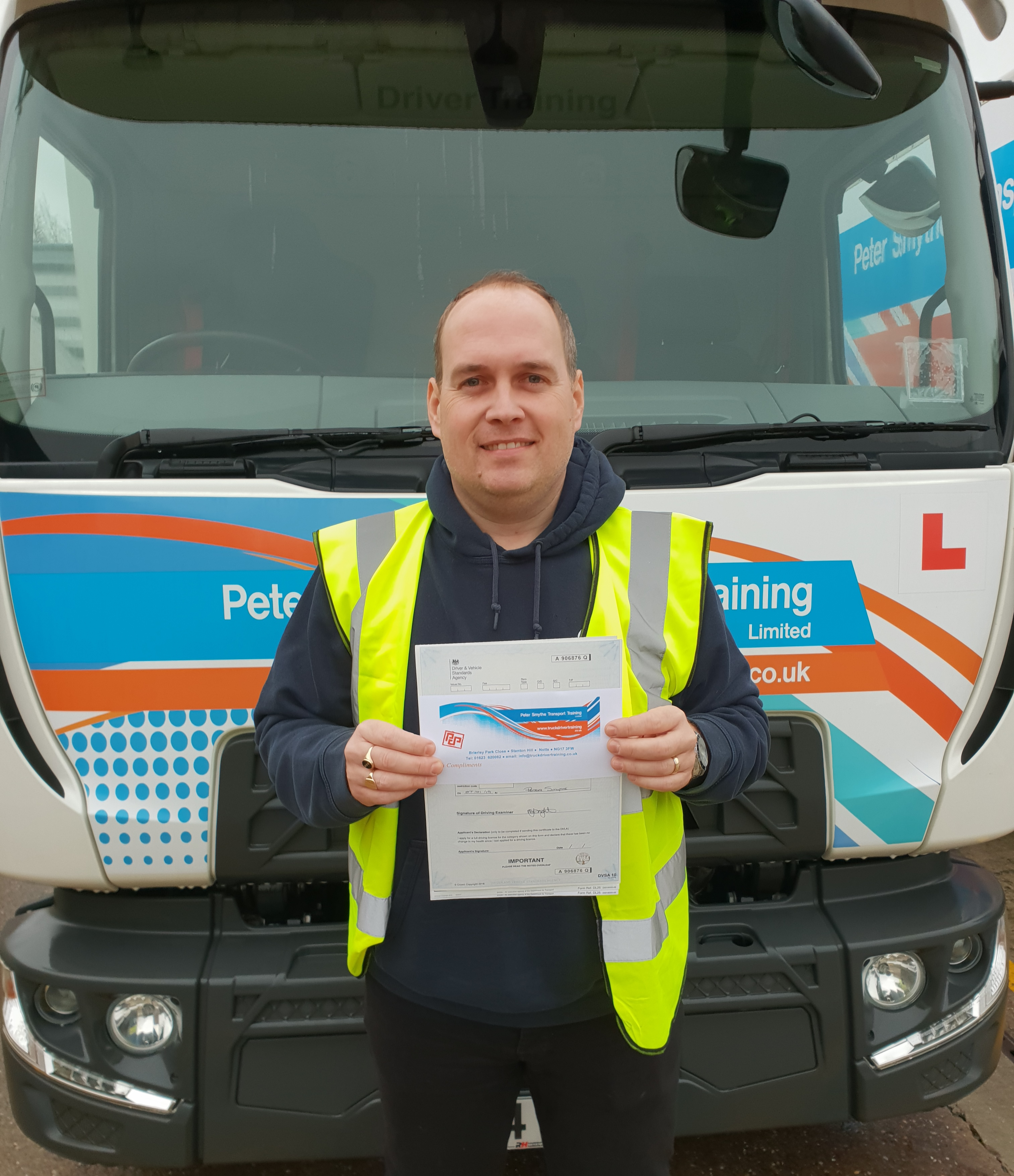 David Harvey from Mansfield PASSED CAT C#ipassedwithpstt